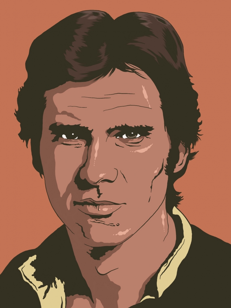 Harrison Ford by Oliversum
